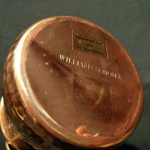 Williams-Sonoma Copper pint mugs